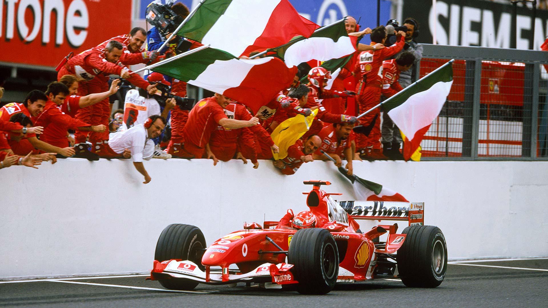 Michael Schumacher Luigi Mazzola
