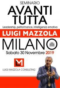 Biglietto Luigi Mazzola seminario avanti tutta 30 novembre